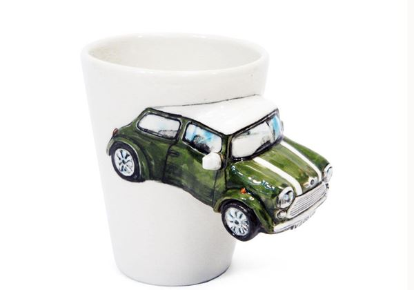 Picture of Mini Cooper Handmade 8oz Coffee Mug