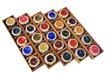 Picture of Profumo Wooden Gift Set 5 Tiny Mixed Candles