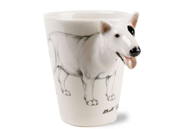 Picture of Bull Terrier Handmade 8oz Coffee Mug