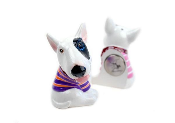 Picture of Bull Terrier Handmade Mini Fridge Magnet