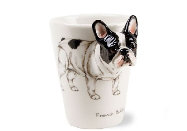 Picture of French Bulldog Handmade 8oz Coffee Mug