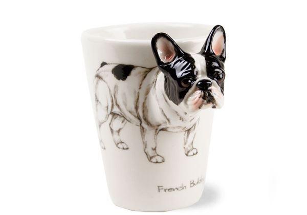Picture of French Bulldog Handmade 8oz Coffee Mug