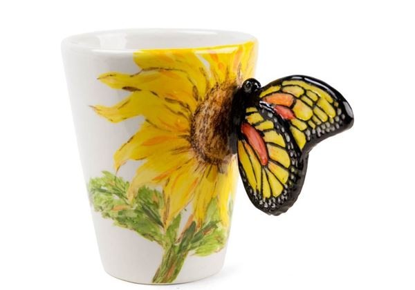 Picture of Butterfly Handmade 8oz Coffee Mug