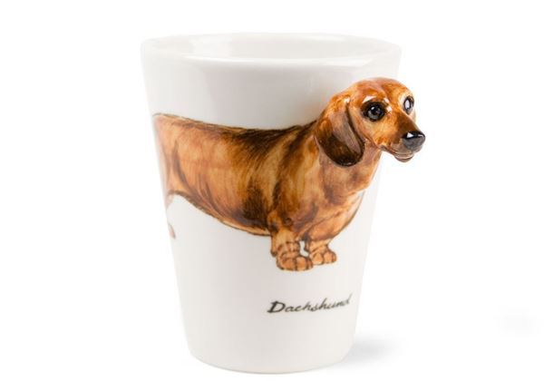 Picture of Dachshund Handmade 8oz Coffee Mug