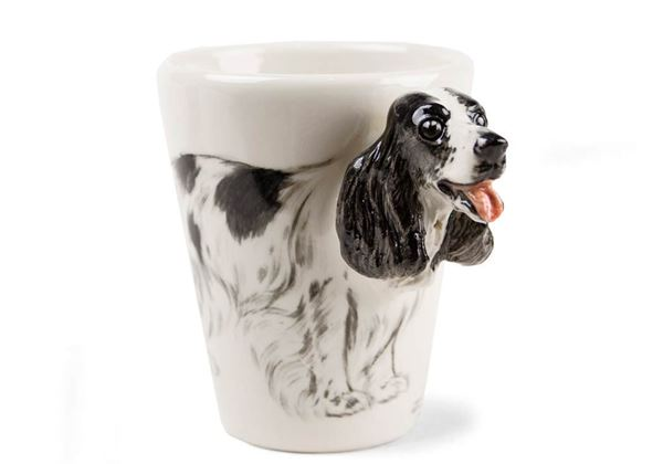 Picture of English Cocker Spaniel Handmade 8oz Coffee Mug