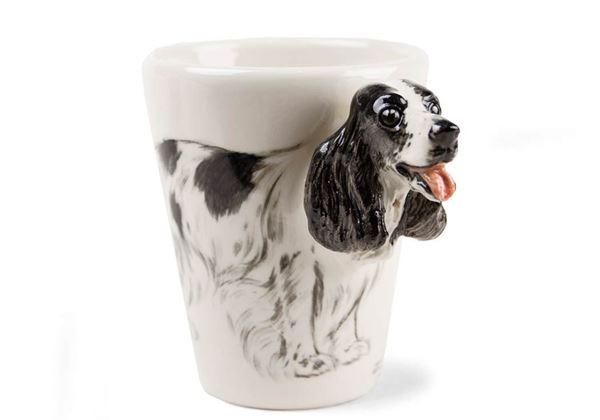 Picture of English Cocker Spaniel Handmade 8oz Coffee Mug
