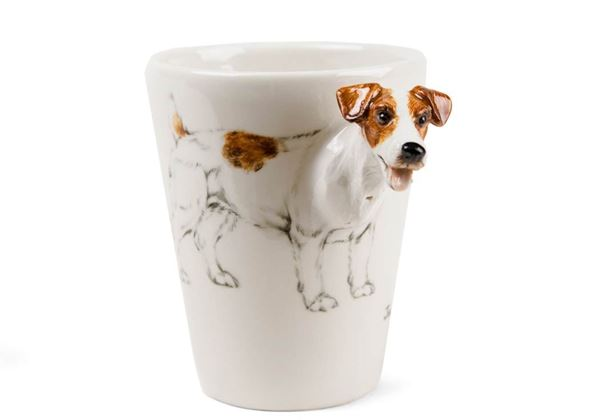 Picture of Jack Russell Handmade 8oz Coffee Mug