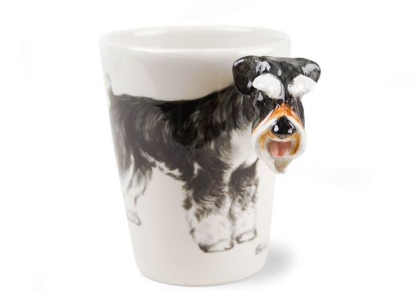 Picture of Schnauzer Handmade 8oz Coffee Mug