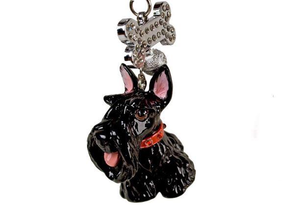 Picture of Scottish Terrier Handmade Mini Key Ring
