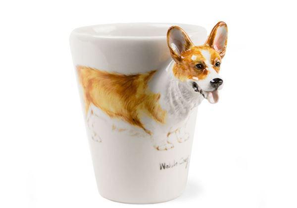 Picture of Welsh Corgi Handmade 8oz Coffee Mug