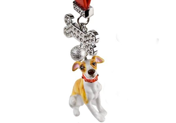 Picture of Whippet Handmade Mini Key Ring