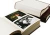 Picture of Cortona Handmade Italian Leather Bound Medium Photo Album White