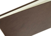 Picture of Chianti Handmade Italian Leather Bound Extra Large Guest Book Chocolate