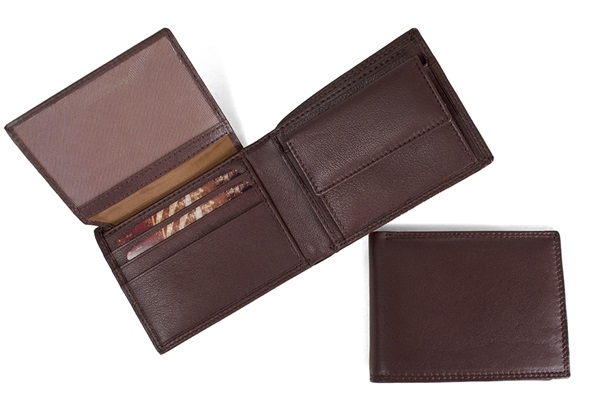 Picture of Ventura Handcrafted Leather Slim Wallet Tan