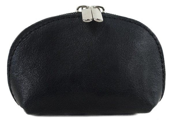 Picture of Nina Handcraft in Italy Small Purse Black