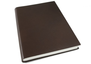 Picture of Nabucco Handmade Leather A5 Journal Chocolate Plain
