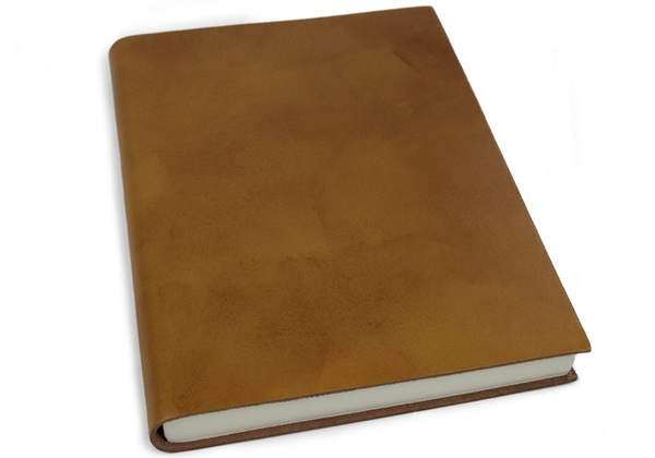 Picture of Nabucco Handmade Leather A5 Journal Tan Plain