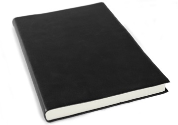 Picture of Preciso Handmade Leather A5 Journal Black Plain