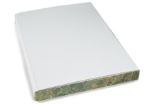 Picture of ilCarta Italian Paper A5 Journal Refill Cream Plain