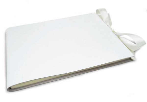 Picture of Puro Handmade Italian Leather Bound Extra Large Guest Book