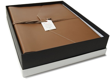 Picture of Empire Handmade Leather Large Photo Album Cognac