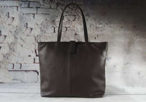 Picture of Urbanista Handmade Leather Tote Bag Large Chocolate