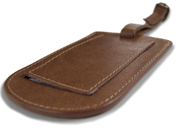 Picture of Matador Handmade Leather Luggage Tag Regular Copper