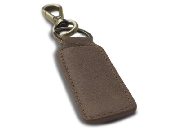 Picture of Matador Handmade Leather Key Ring Regular Tan