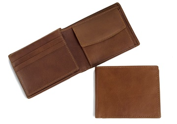 Picture of Fat Boy Wallet with RFID Blocking Cognac