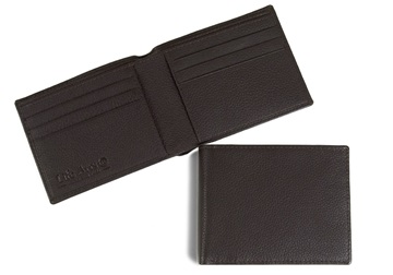 Picture of Slim Boy Wallet with RFID Blocking Chocolate