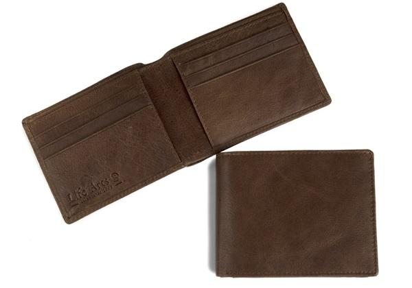 Picture of Slim Boy Wallet with RFID Blocking Tan