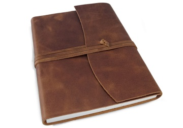 Picture of Amalfi Handmade Leather Journal A5 Copper