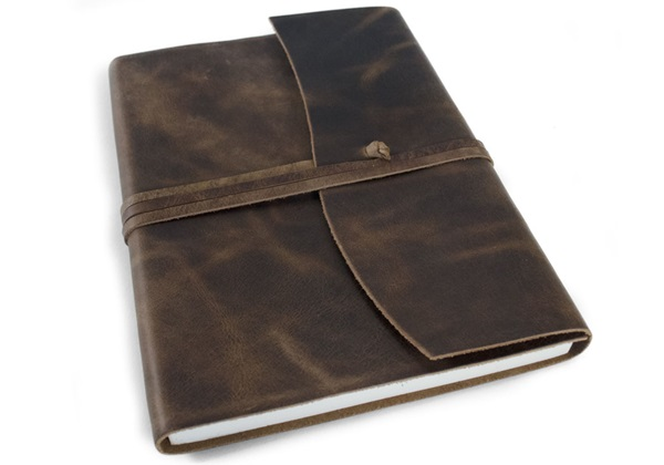 Picture of Amalfi Handmade Leather Journal A5 Rustic Tan