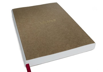Picture of Khadda Milled Paper A5 Journal Refill Ivory Dotted