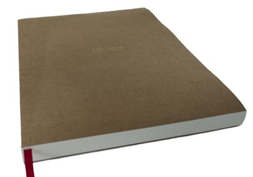 Picture of Khadda Milled Paper A4 Journal Refill Ivory