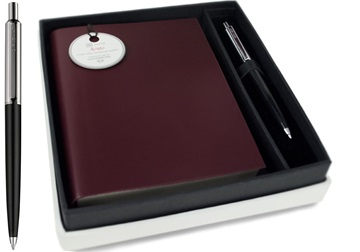 Picture of Acuto Handmade Italian Leather Bound A6 Journal Burgundy Plain