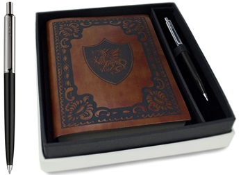 Picture of Storia Handmade A6 Journal Drago Chestnut Plain