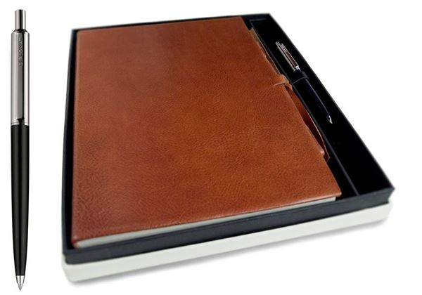 Picture of Rustico Handmade Leather Bound A4 Journal