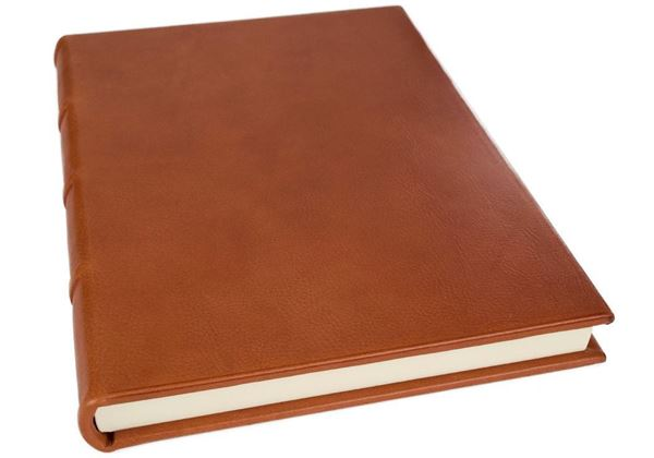 Picture of Chianti Handmade Italian Leather Bound A4 Yacht Logbook