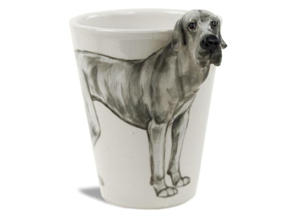 Picture of Great Dane Handmade 8oz Coffee Mug Grey